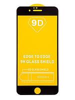 Защитное стекло TDG 9D для Apple Iphone 6 Plus / 6S Plus Full Glue черный 0,26 мм в упаковке