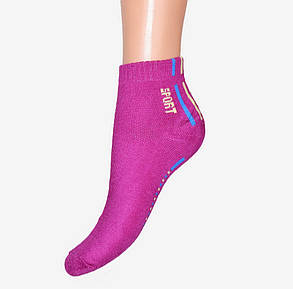 Махровые носки с полосками (E075) | 12 шт., фото 2