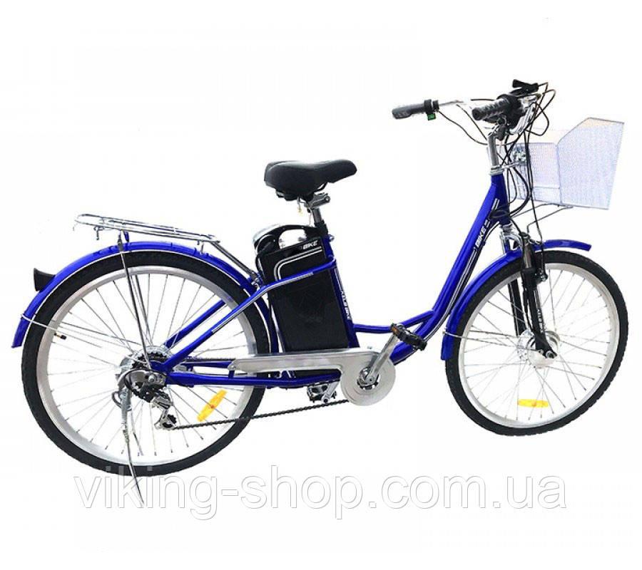 """Электровелосипед дорожный 26"""" 350W+PAS Li-ion"""