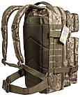 Тактический военный рюкзак Hinterhölt Jäger (Хинтерхёльт Ягер) 40 л Камуфляж, фото 3