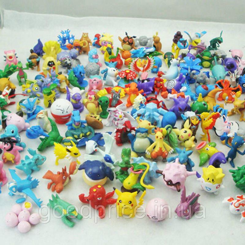 Игрушки Покемоны для покебол - покешаров (фигурки Покемон Pokemon Go) коллекция