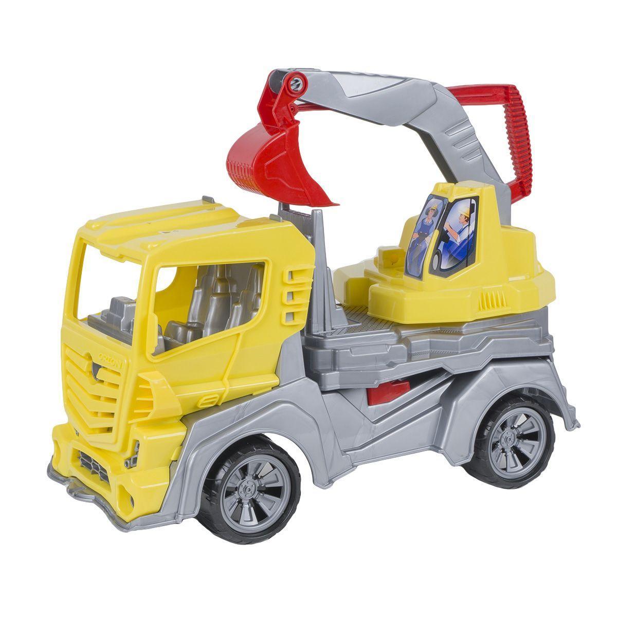 Авто Екскаватор (желтый)