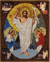 "Схема для вышивки бисером ""Воскресіння Христове"""
