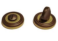 Накладка под WC-фиксатор Linea Cali (на 011 розетке) бронза (ВО)