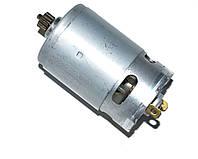 Двигатель для шуруповерта 21V (с шестерней 12 зубов,D=9mm)