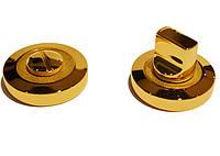 Накладка под WC-фиксатор Linea Cali (на 102 розетке) золото/золото матовое