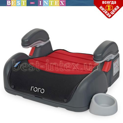 Бустер ME 1144 RORO Isofix Ruby Red Лён!!!