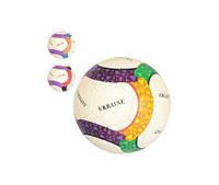 М'яч футбольний 2500-143 розмір 5, ПУ1,4мм, ручна робота, 32панели, 410-430г, 3цвета(країни)(2500-143)