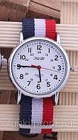 Дизайнерские наручные часы с браслетом в виде флага, фото 1