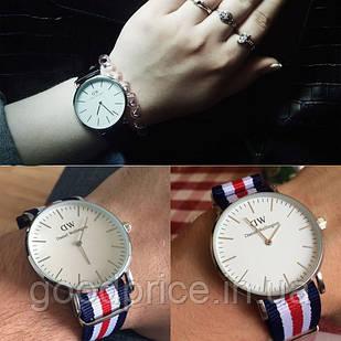 Часы Daniel Wellington (Даниель Велингтон) classic canterbury lady в серебре