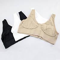 Бюстгальтер Ах Бра Ahh bra  - aire bra ( В комплекте 3 штуки ), размер L, Нижнее белье