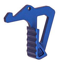 Увеличенная ручка затвора Strike industries для AR15 blue
