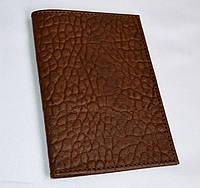 Обложка для паспорта Харьков коричневая
