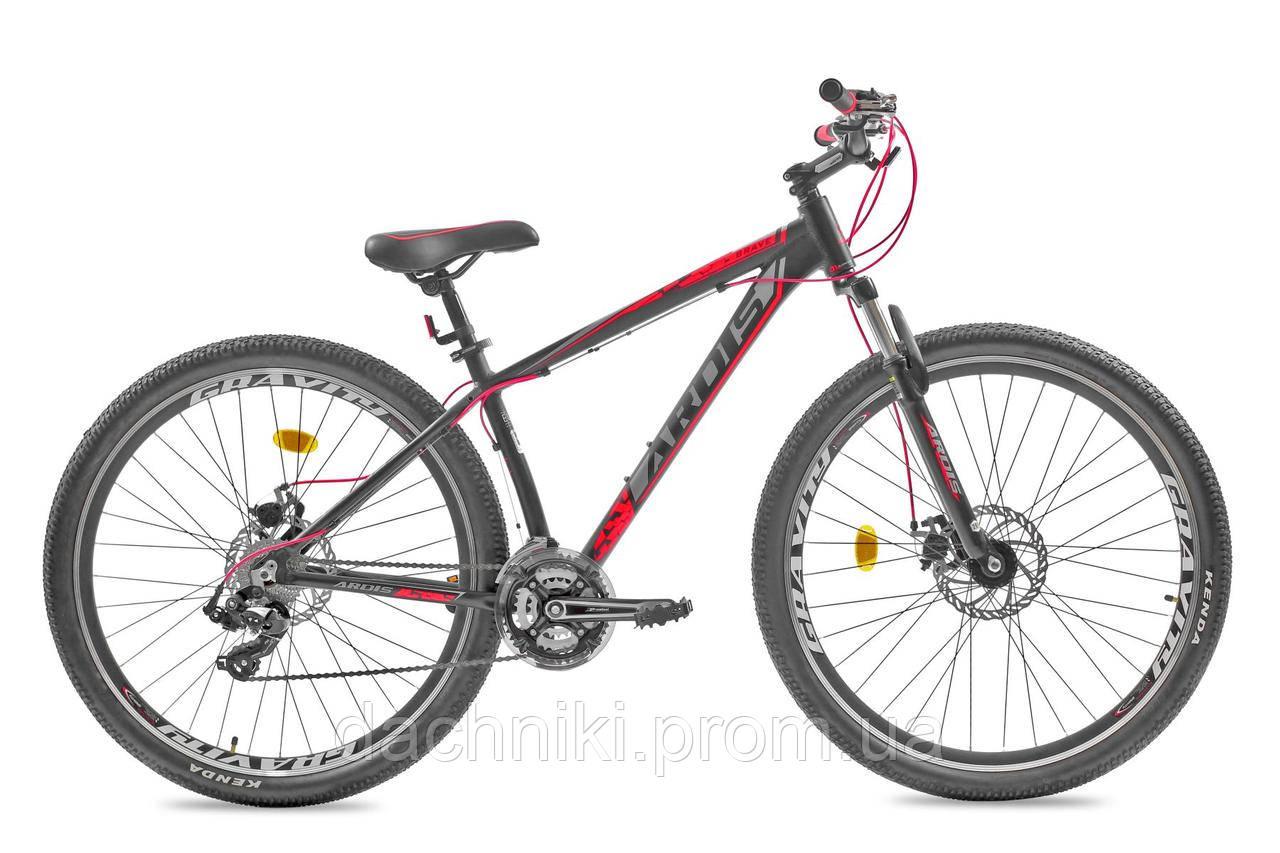 """Велосипед ARDIS BRAVE 29"""" Черный/Красный (0181)"""