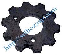 Звездочка КРН z=10 опорно-приводного колеса