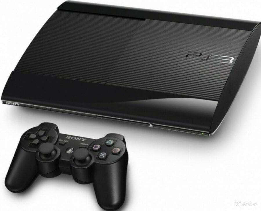 Sony Playstation 3 Super Slim 500GB + Игры (БУ)