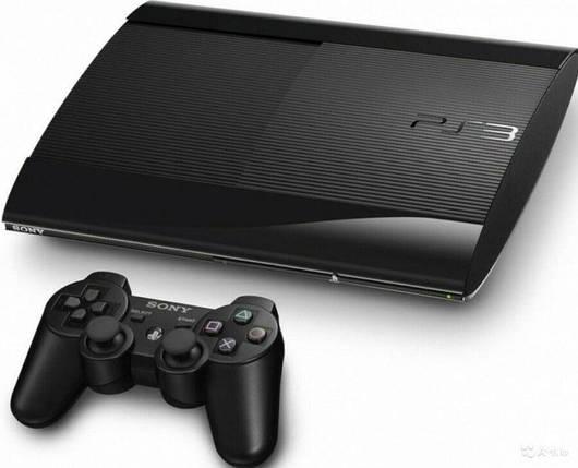 Sony Playstation 3 Super Slim 500GB + Игры (БУ), фото 2