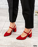 Элитная коллекция! Шикарные босоножки на каблуке летние туфли, фото 2