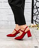 Элитная коллекция! Шикарные босоножки на каблуке летние туфли, фото 4