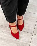 Элитная коллекция! Шикарные босоножки на каблуке летние туфли, фото 6