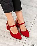 Элитная коллекция! Шикарные босоножки на каблуке летние туфли, фото 5