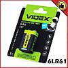 Videx лужна Батарейка Videx 6LR61/9V ( Крона ), фото 2