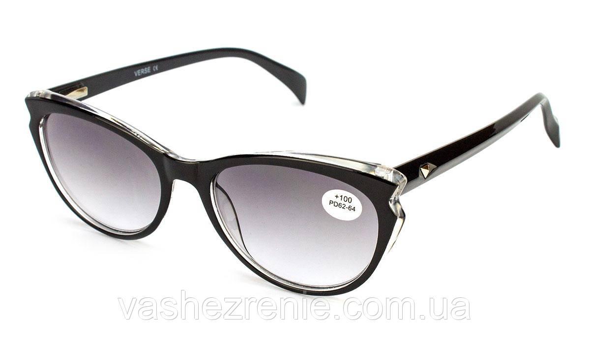 Очки женские для зрения +/- Код:1324
