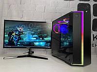 Игровой компьютер Intel Core i5-9400f + NVIDIA GTX 1070 8Gb + RAM 16Gb + HDD 1TB + SSD 120Gb, фото 1
