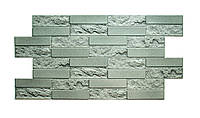 Пластикова листова стінова панель ПВХ Грейс Grace Цеглинка бетонна 0,3мм 980*480 мм