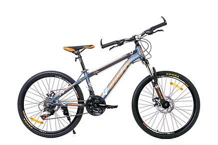 """Велосипед горный Oskar 26"""" Carter Алюминий с амортизацией Хардтейл Велосипед гірський MTB, фото 2"""