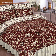 5400 кор. Семейное постельное белье ранфорс Viluta
