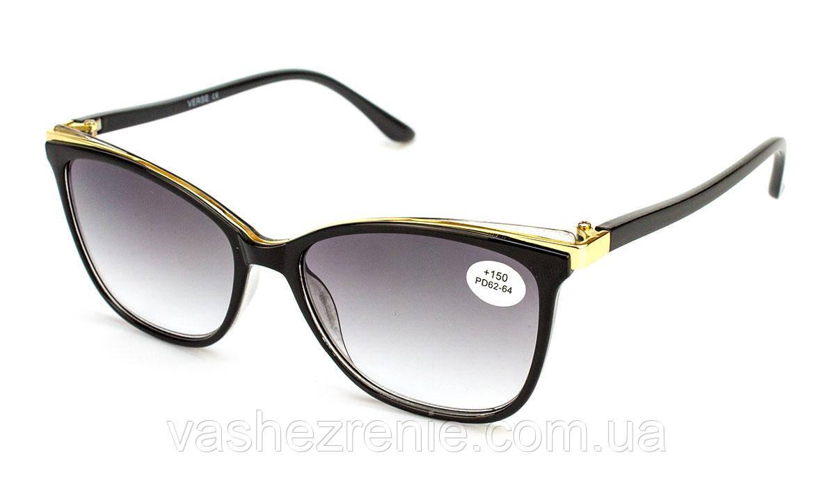 Очки женские для зрения +/- Код:1325