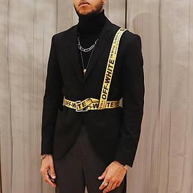 Как носить текстильный мужской ремень