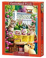 Пазлы Castorland 1000шт (103812) 68*47 см (Котята в саду)