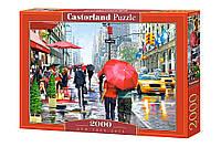 Пазлы Castorland 2000шт (200542) 92*68 см (Кафе, Нью-Йорк)