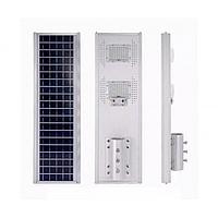 LED уличный светильник на солнечной батарее 120W (на пульте)