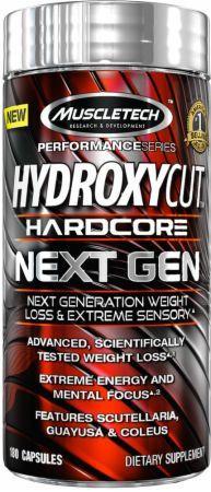 MuscleTech Жиросжигатель Hydroxycut Hardcore Next Gen (180 caps)