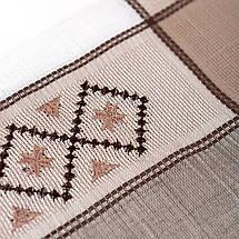 Скатерть лен с вышивкой  150х220, фото 2