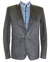 Мужской пиджак приталенный №53 - велюр 11289/4, фото 1