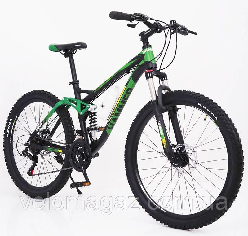 """Стильний алюмінієвий спортивний велосипед ACTIVE 26-A211, двухподвесной 26"""" рама 17"""""""