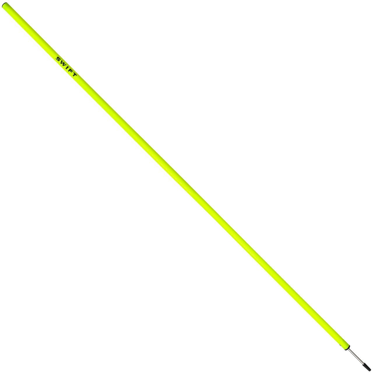 Жердина для слалому SWIFT Agility Pole With Spike, жовтий, 160 см, d 30 мм