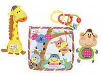 Biba Toys Игровой набор Обезьяна и жираф (BR187)