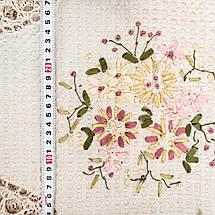 Праздничная скатерть с цветами 100х150, фото 2