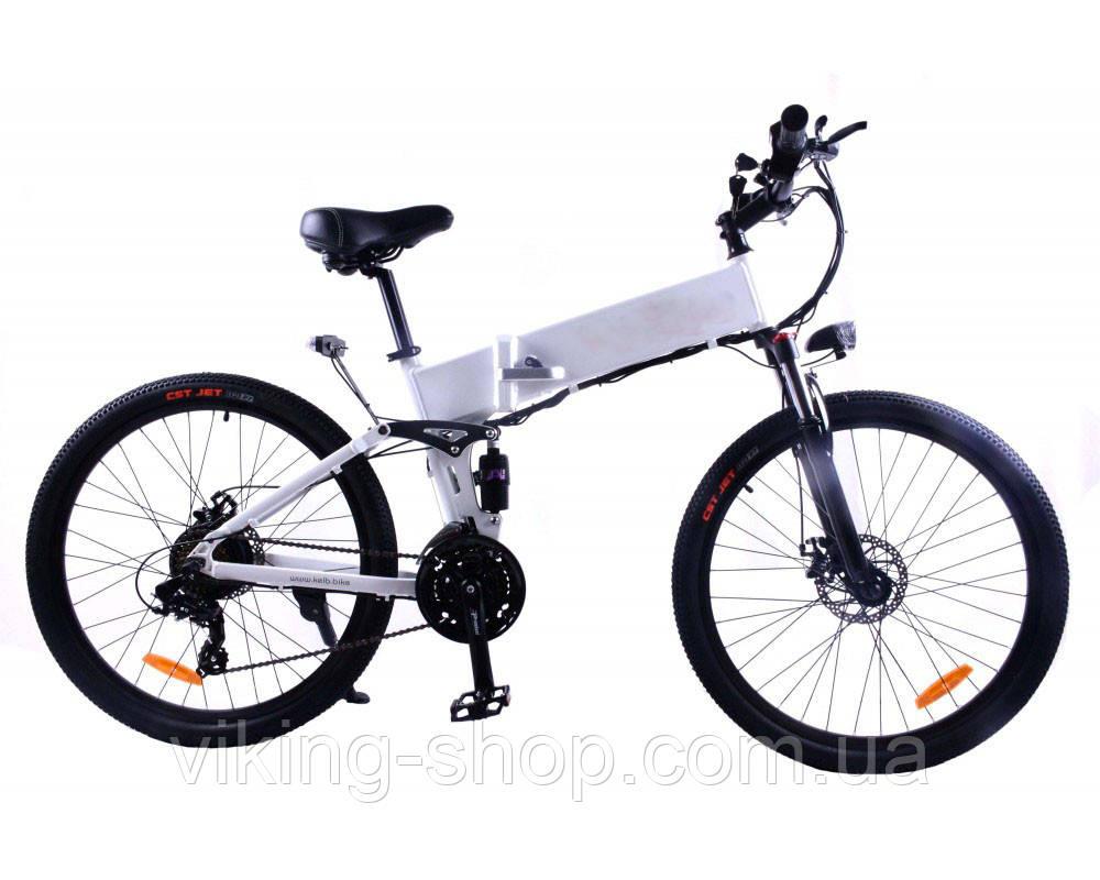 "Электровелосипед литиевая батарея складной 26"" 350W, 48V"