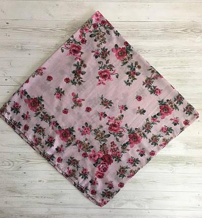 Легка рожева хустинка Літній подих, фото 2