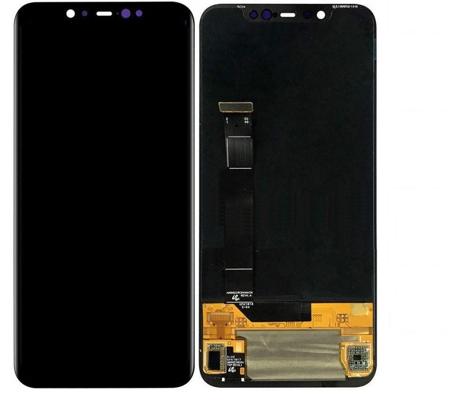 Дисплей Xiaomi Mi8 Super Amoled + сенсор чёрный