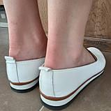 Макасіни кеди жіночі INSHOES білі, фото 3