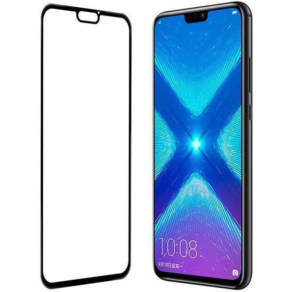 Защитное стекло Huawei Honor 8X черный 5D
