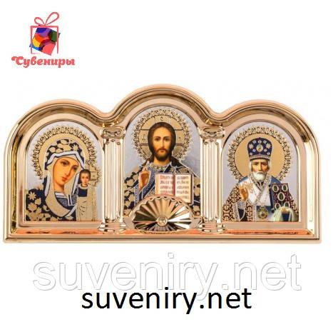 Красивая иконка оберег с ликами Святых