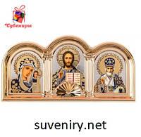 Красивая иконка оберег с ликами Святых, фото 1
